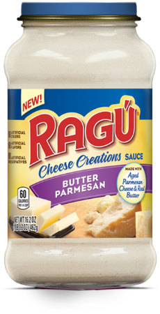 NEW RAGÚ Butter Parmesan