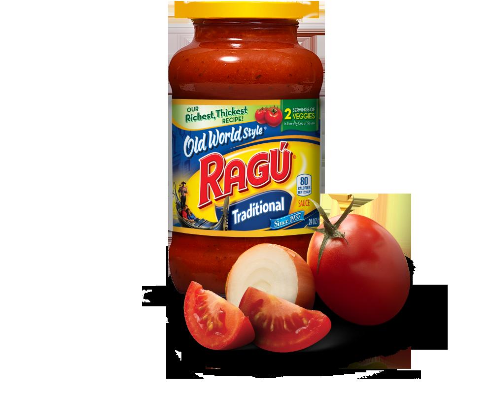 Old World Style® Traditional Spaghetti Sauce | RAGÚ®