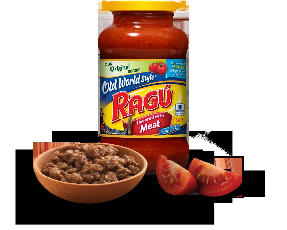 Old World Style® Meat Sauce RAGÚ®