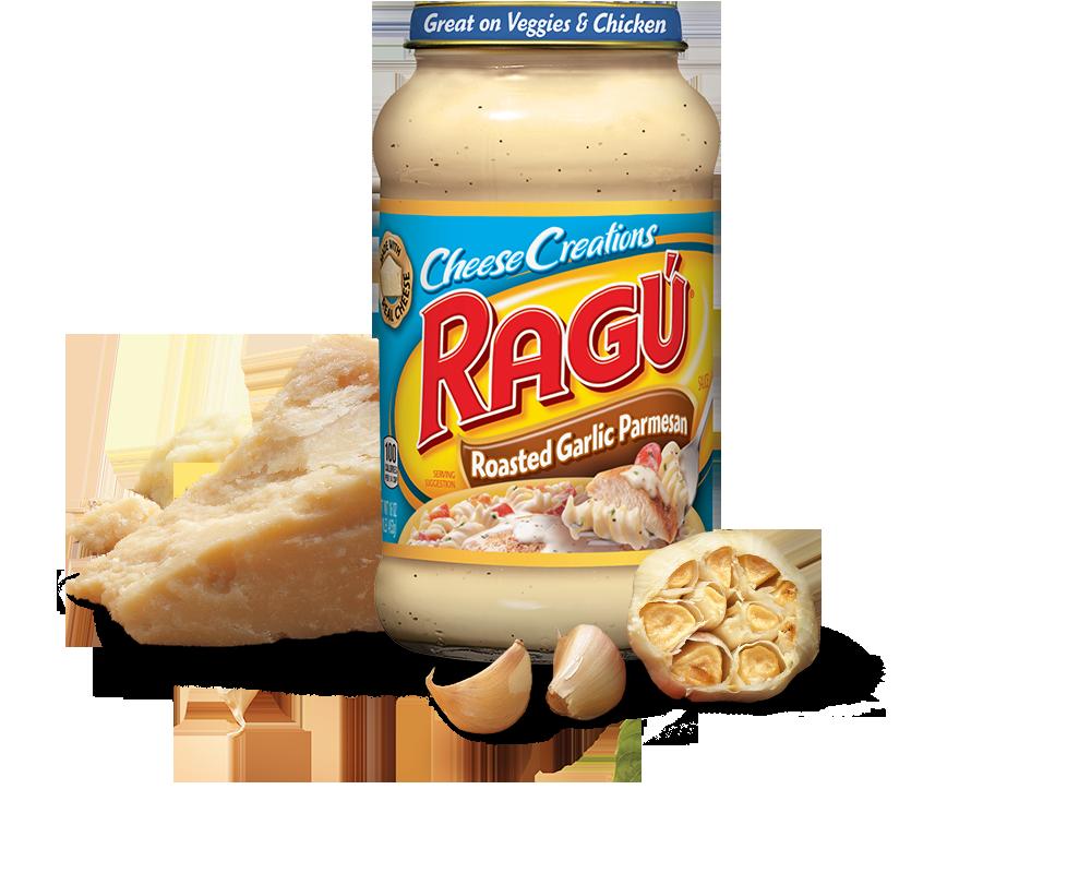 Roasted Garlic Parmesan Sauce | RAGÚ®