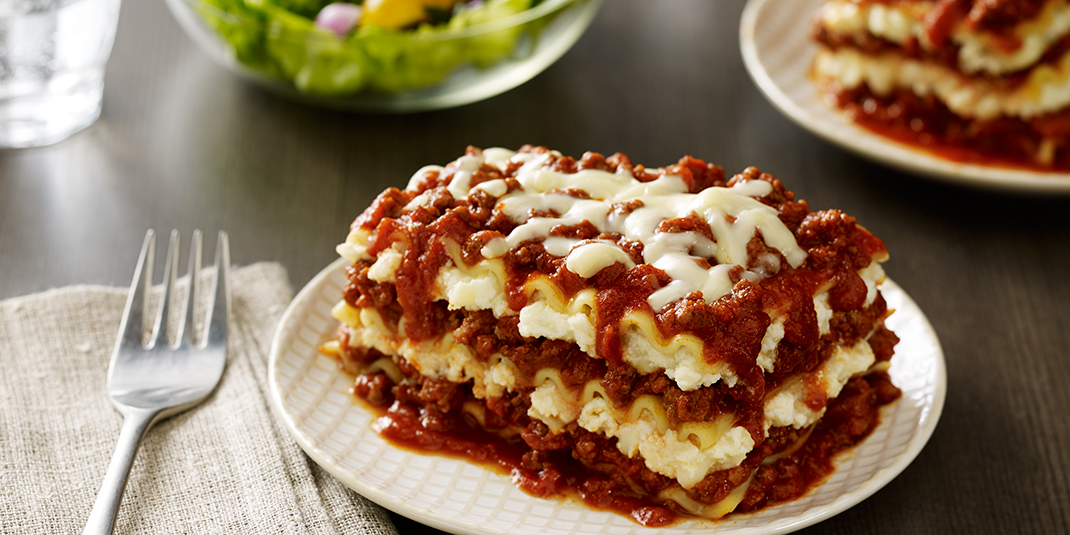 How To Make Easy Lasagna With Meat And Ricotta Cheese