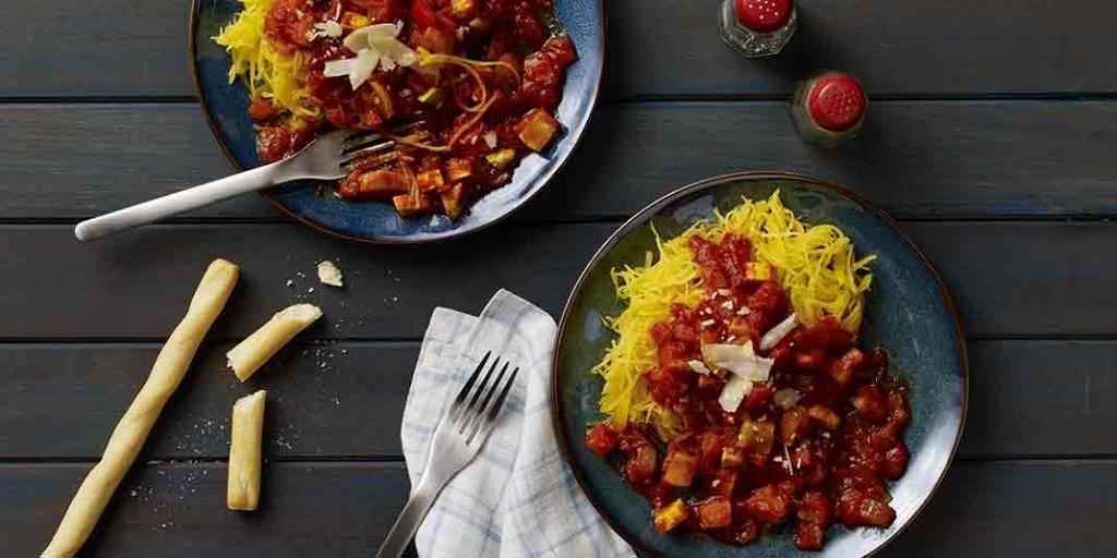 Spaghetti Squash with Vegetables