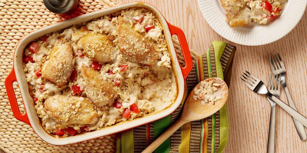 Baked Chicken & Rice