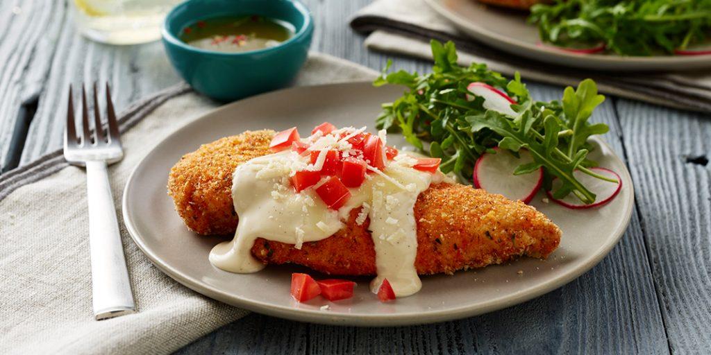 Chicken Parmesan Alfredo