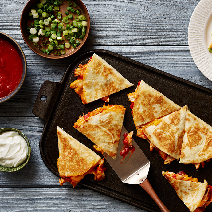 Cheesy Quesadillas