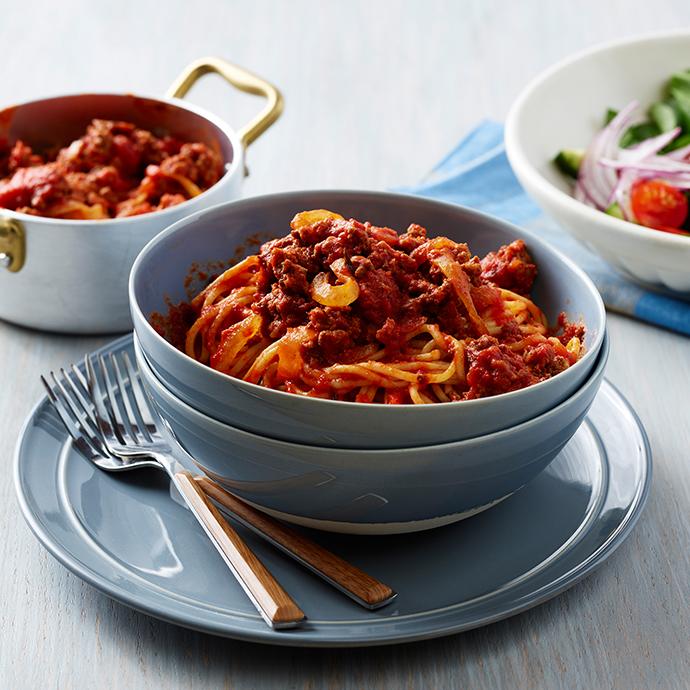 Mama's Spaghetti & Meat Sauce