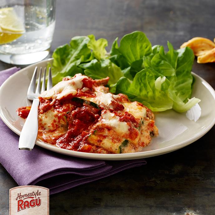Noodle-less Zucchini Lasagna - RAGÚ