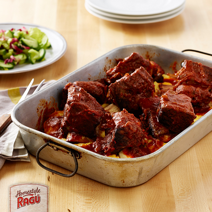 Braised Tuscan Short Ribs Recipe | RAGÚ