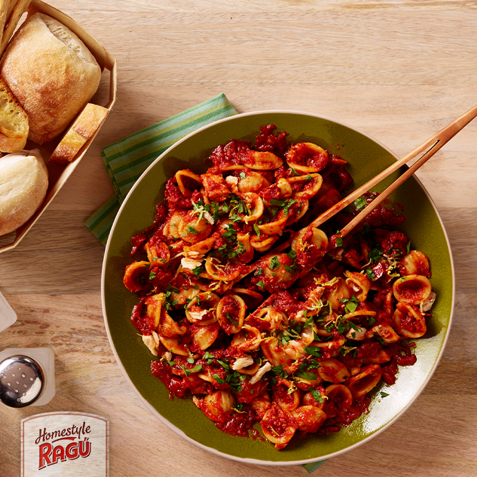 Sun-Dried Tomato & Tonno Orecchiette