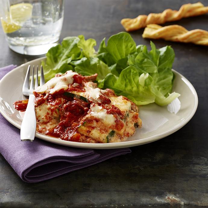 Noodle-less Zucchini Lasagna