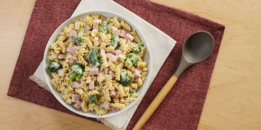 Creamy Ham and Broccoli Rotini