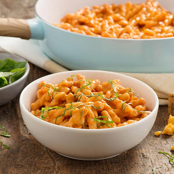 Grown-Up Tomato Mac & Cheese