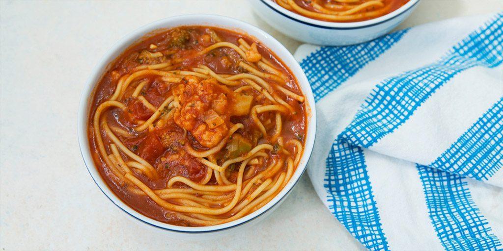 Instant Pot Spaghetti Soup