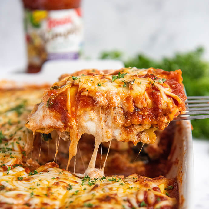 Vegetable Ravioli Lasagna