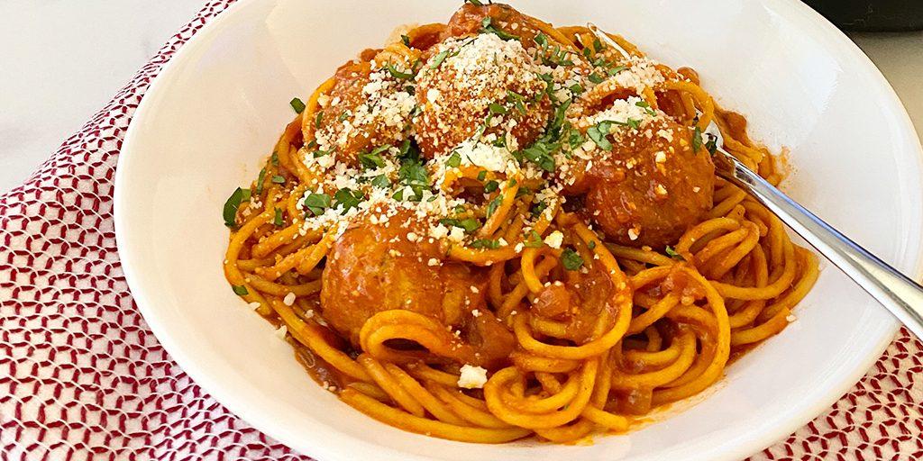 Spaghetti & Meatballs in an Instant